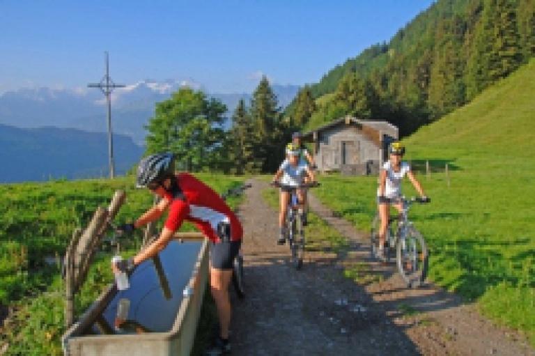 Bike-Arena Giswil (NRP-Projekt von 2013 bis 2015)
