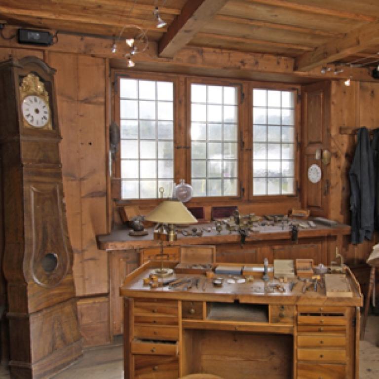 Atelier témoin du paysan horloger (NRP-Projekt von 2012 bis 2013)