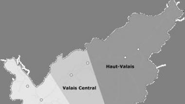 Reorganisation der Regionen