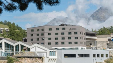 Construction du wellnessHostel4000 et transformation d'Aqua Allalin, Saas-Fee