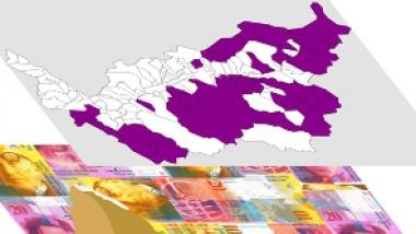 Régions présentant des problèmes typiques de la région de montagne et du milieu rural